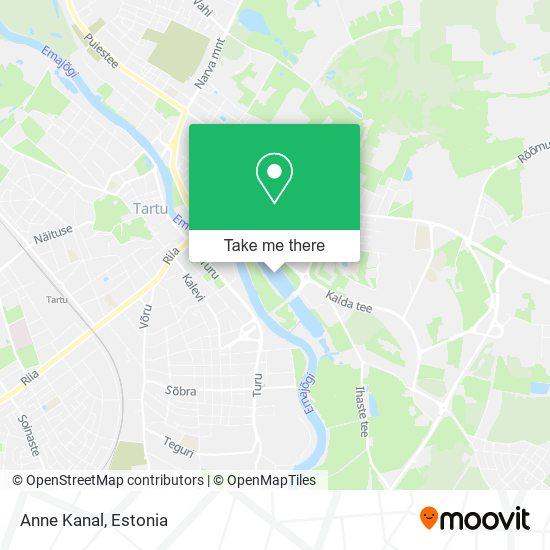 Anne Kanal map