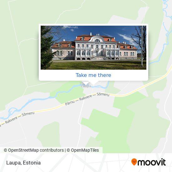 Laupa map