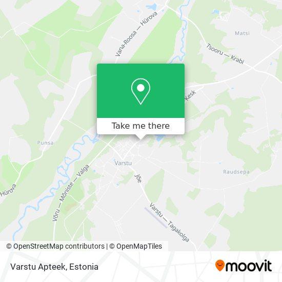 Varstu Apteek map