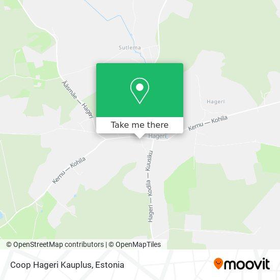Hageri A Ja O map