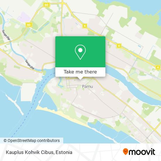 Kauplus Kohvik Cibus map
