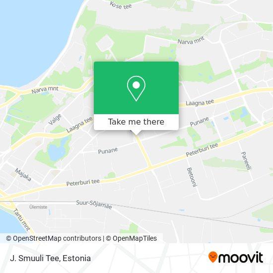 J.Smuuli Tee map