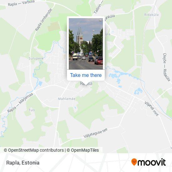 Rapla map
