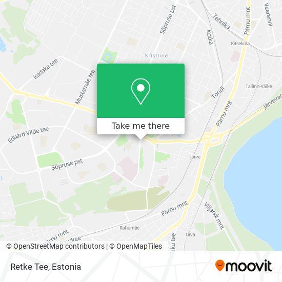 Retke Tee map