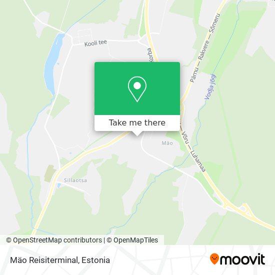 Mäo Reisiterminal map