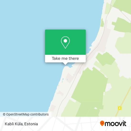 Kabli Küla map