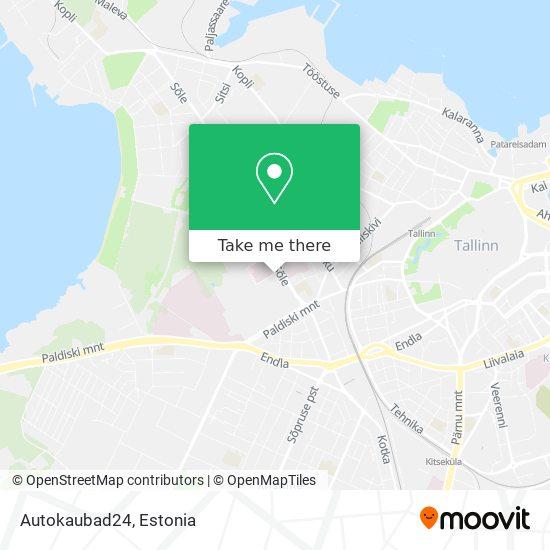 Autokaubad24 map