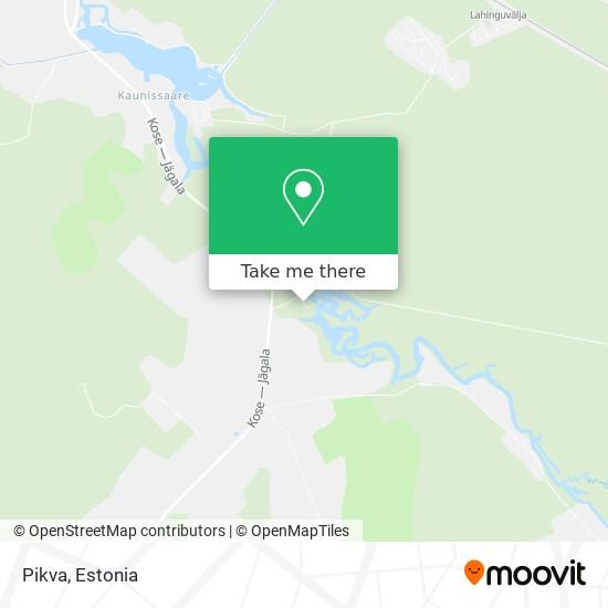 Pikva map