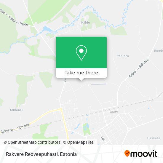 Rakvere Reoveepuhasti map