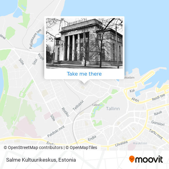 Salme Kultuurikeskus map