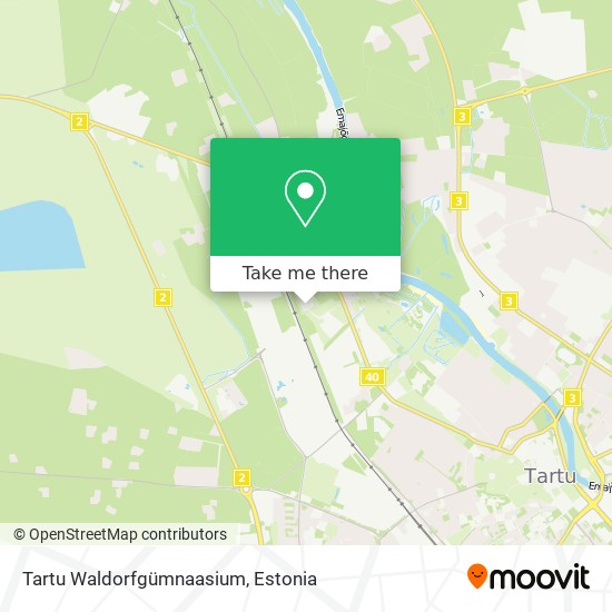 Tartu Waldorfgümnaasium map