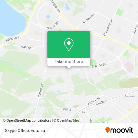 Skype Office map