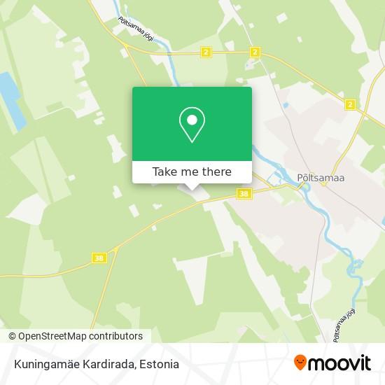 Kuningamäe Kardirada map