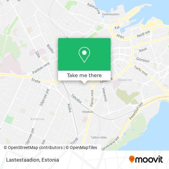Lastestaadion map