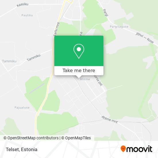 Telset map
