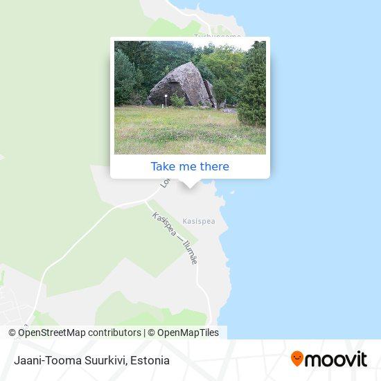Jaani-Tooma Suurkivi map