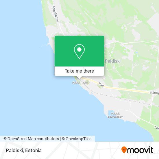 Paldiski map