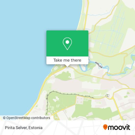 Pirita Selver map
