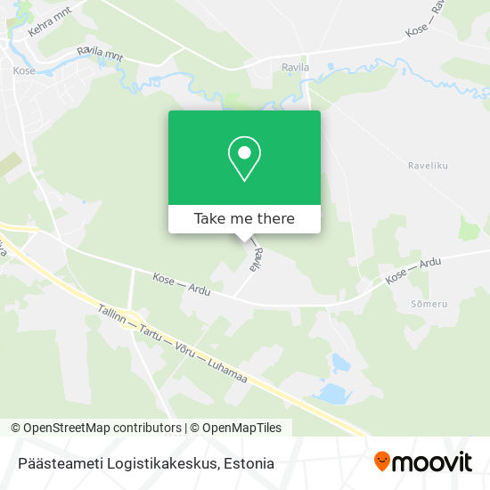 Päästeameti Logistikakeskus map