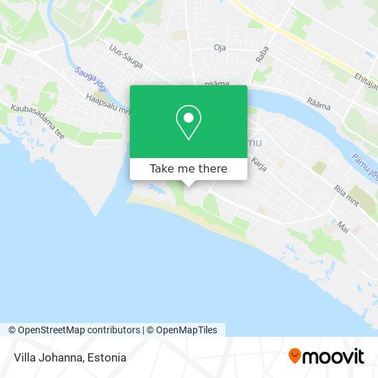 Villa Johanna map