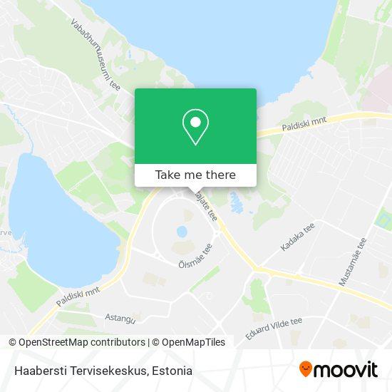 Haabersti Tervisekeskus map