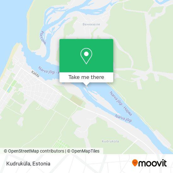 Kudruküla Küla map