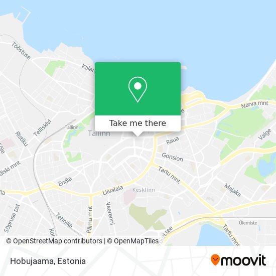 Hobujaama map