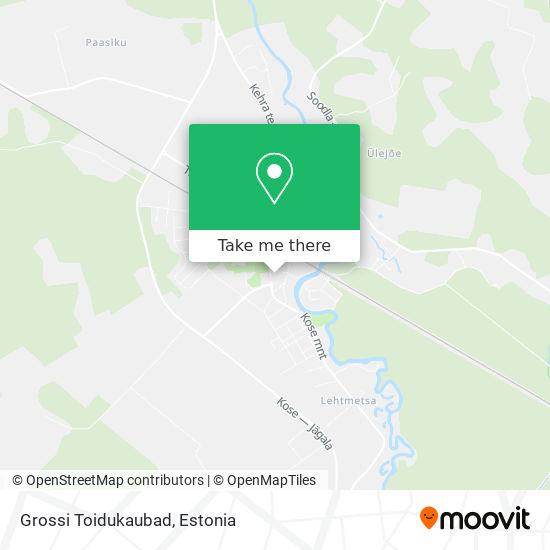 Kehra Grossi Kauplus map