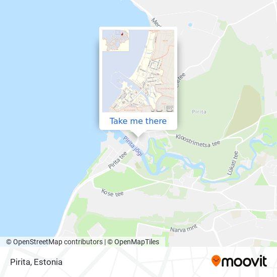 Pirita map
