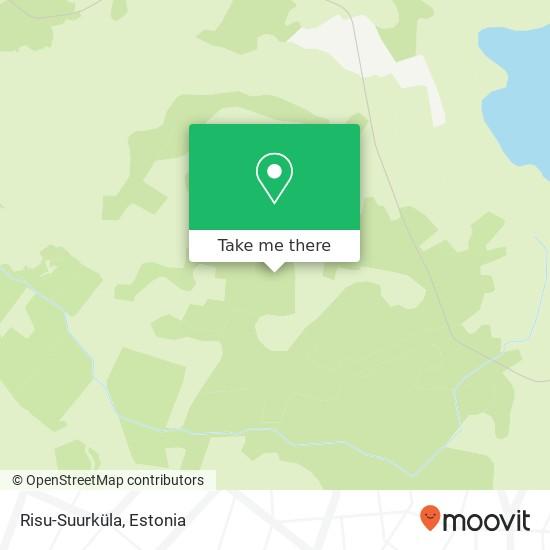Risu-Suurküla map