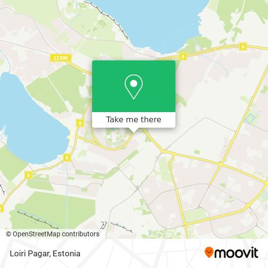 Loiri Pagar map