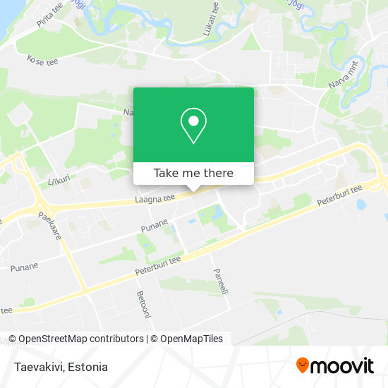 Taevakivi map