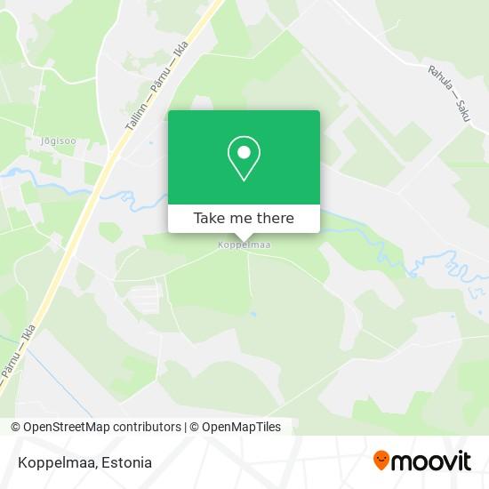 Koppelmaa map
