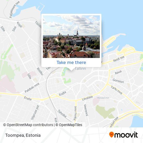 Toompea map