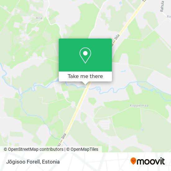 Jõgisoo Forell map