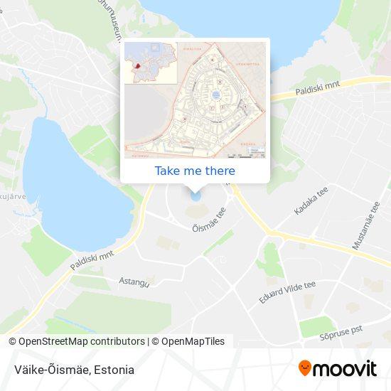 Väike-Õismäe map