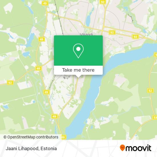 Jaani Lihapood map