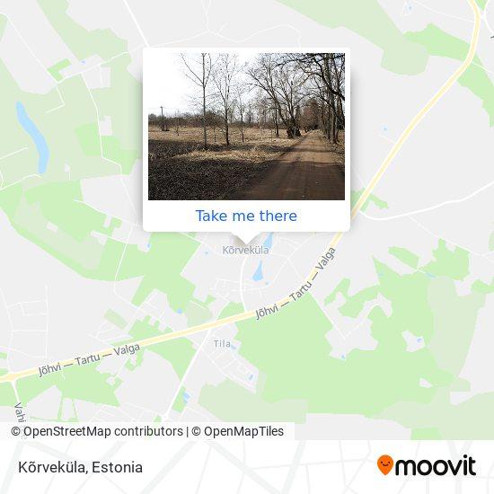 Kõrveküla map