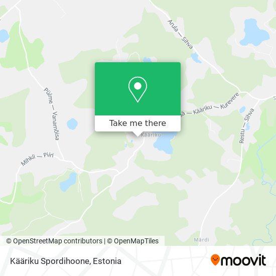 Kääriku Puhke Ja Spordikeskus map