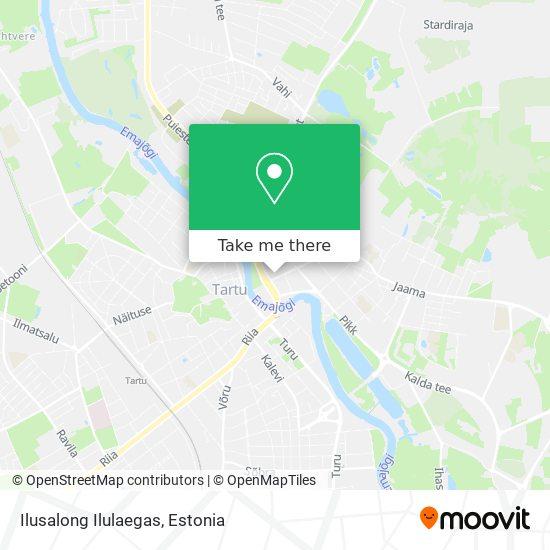 Ilusalong Ilulaegas map