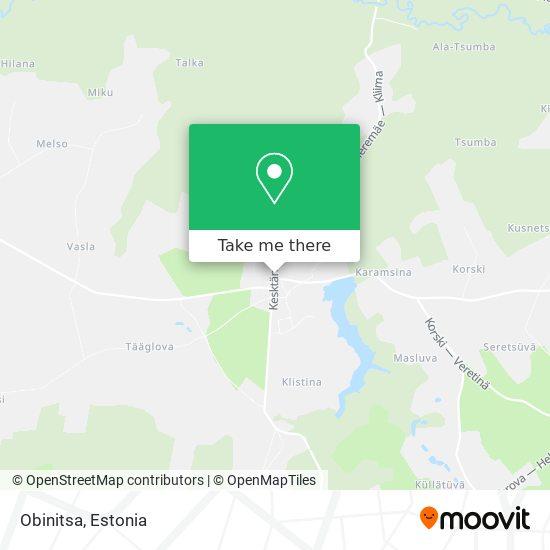 Obinitsa map