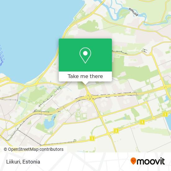 Liikuri map