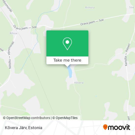 Kõvera Järv map