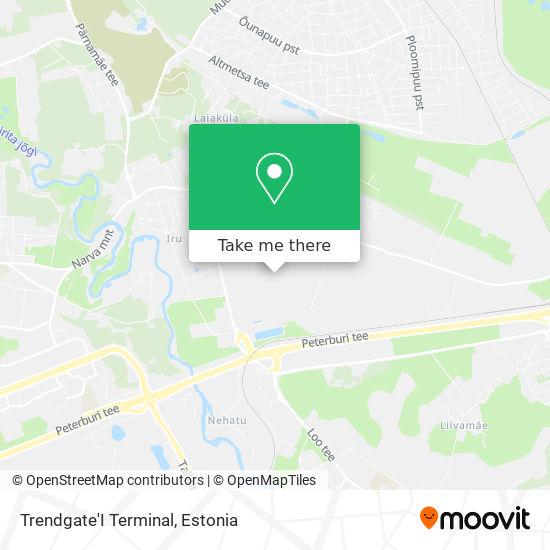 Trendgate Terminal map