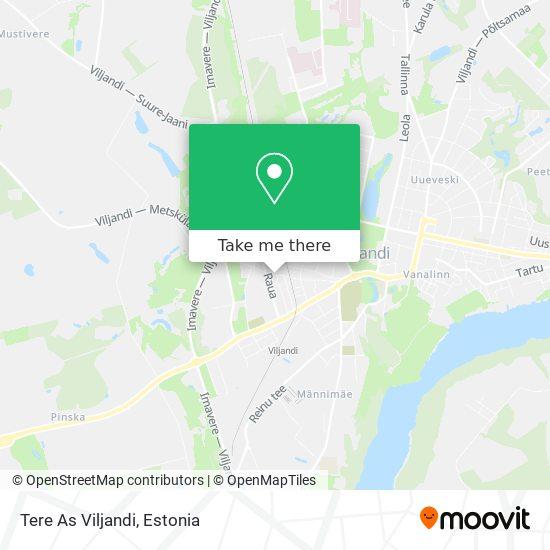 Tere As Viljandi map