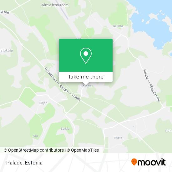 Palade map