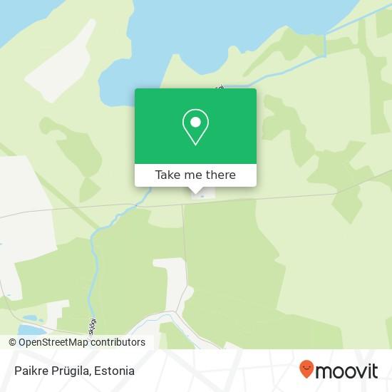 Paikre Prügila map