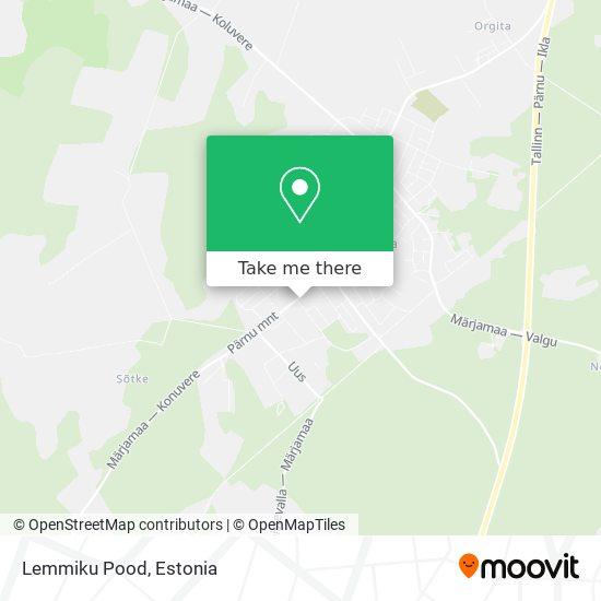 Kati Pood map