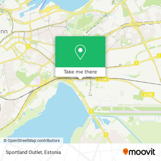 Sportland Outlet map