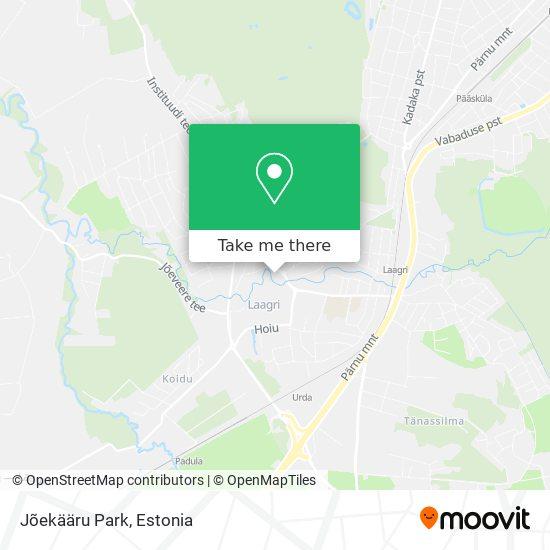 Jõekääru Park map